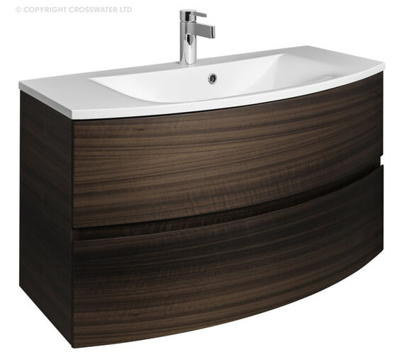 Alternate image of Bauhaus Svelte 1000mm Wall Hung Vanity Unit And Basin