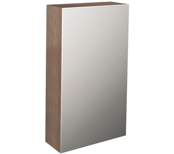Additional image of Pura Echo Single Door Mirror Cabinet 400mm