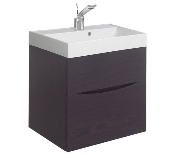Additional image of Bauhaus Glide II 700mm Double Drawer Vanity Unit Driftwood