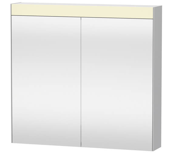 Duravit Double 760mm Height Mirror Door Cabinet
