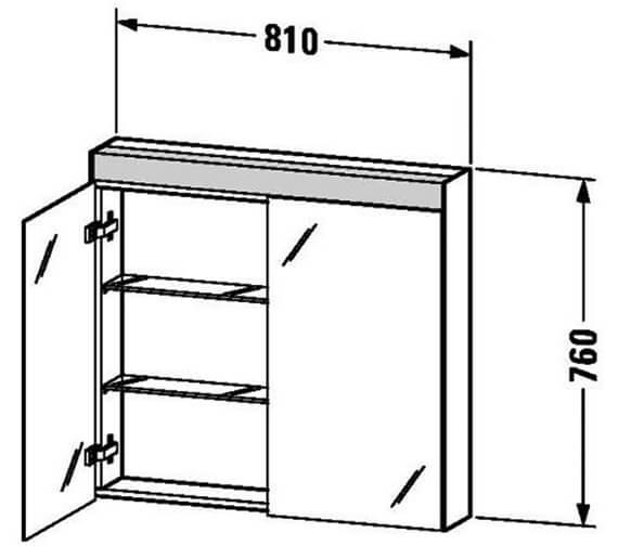Technical drawing QS-V80766 / LM782100000