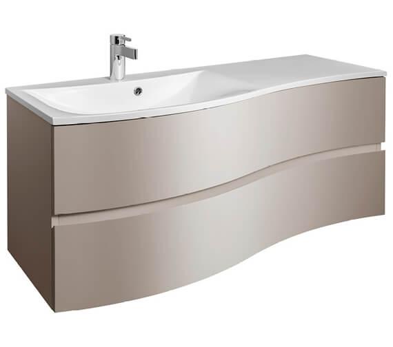 Alternate image of Bauhaus Svelte 1200mm Wall Hung Vanity Unit And Basin
