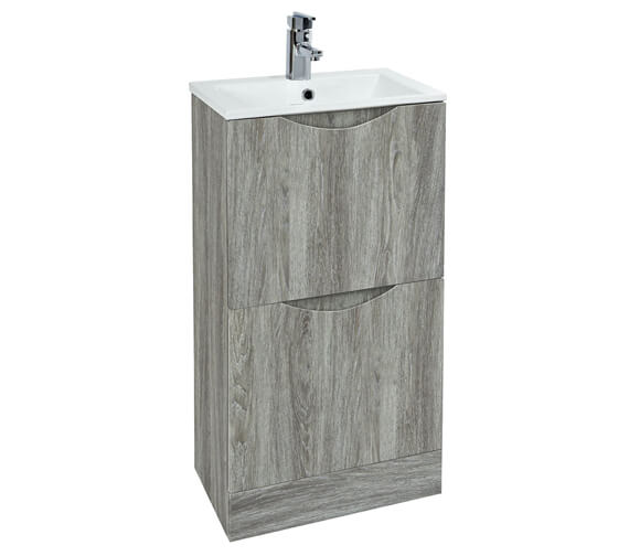 Phoenix Malmo 400 x 410mm Floor Standing Unit With Basin