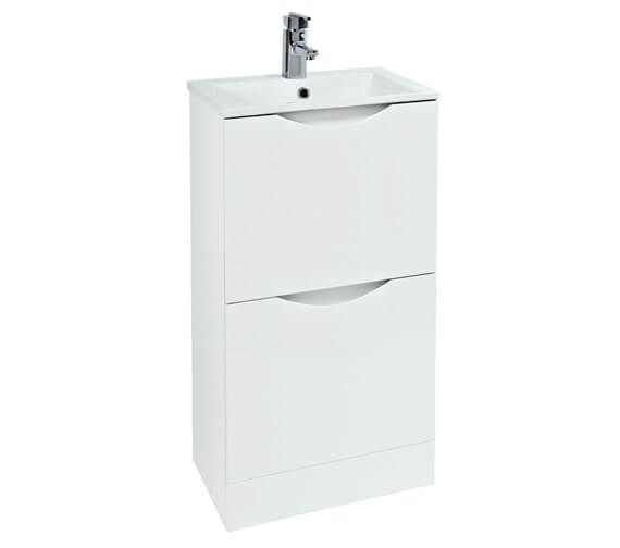 Alternate image of Phoenix Malmo 400 x 410mm Floor Standing Unit With Basin