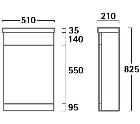 Technical drawing QS-V55193 / K5BTWW