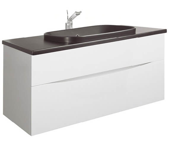 Alternate image of Bauhaus Glide II 1000mm Unit With PlusTon Worktop And Inset Basin
