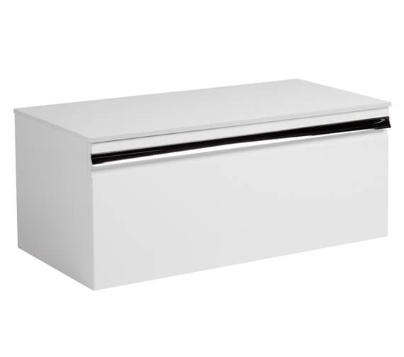 Alternate image of Roper Rhodes Pursuit 900mm Wall Mounted Unit Charcoal Elm