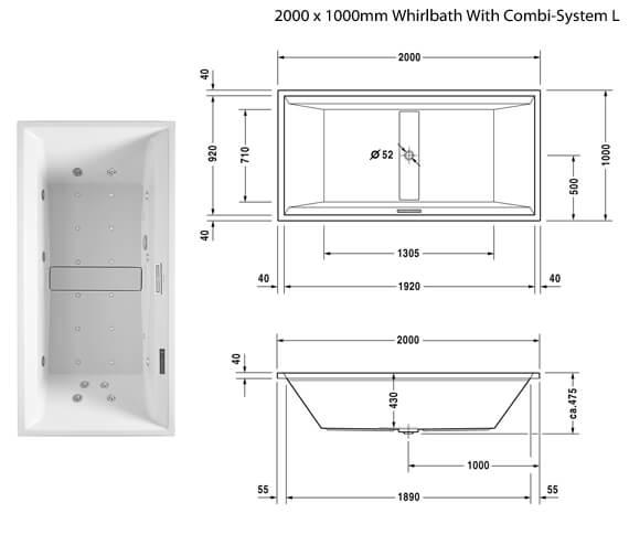 Additional image for QS-V63192 Duravit - 760076000CL1000