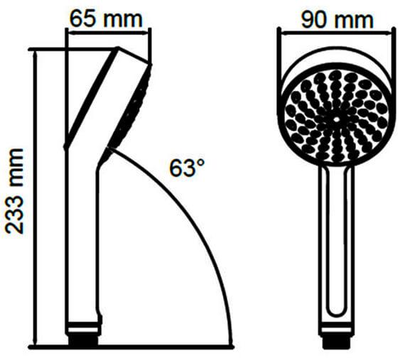 Technical drawing QS-V78678 / 2.1703.009