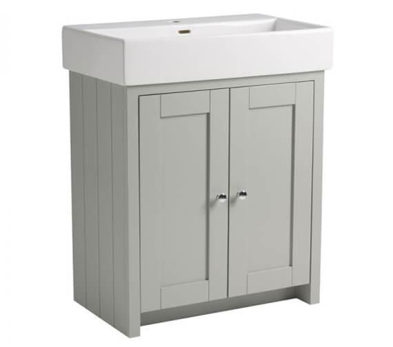 Additional image of Tavistock Lansdown Freestanding Double Door Vanity Unit