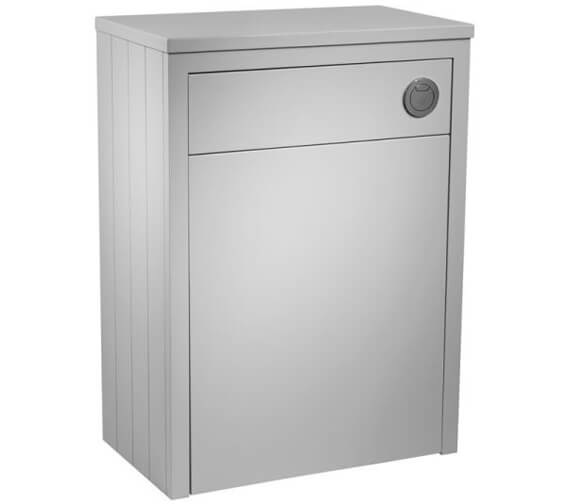 Additional image of Tavistock Lansdown 600mm Back To Wall WC Unit Linen White