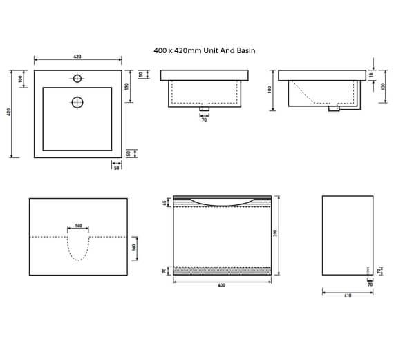 Technical drawing QS-V6705 / FU054