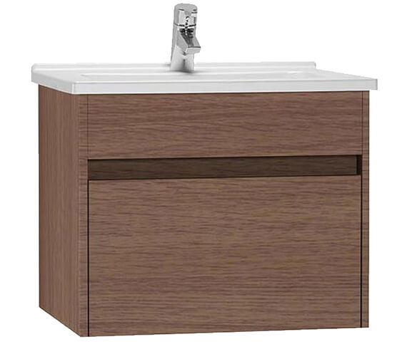 VitrA S50 600mm Wide Wall Hung Vanity Unit And Basin