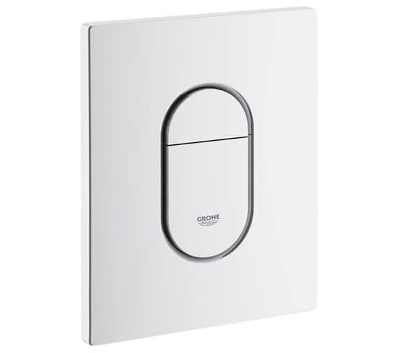 Grohe Arena Cosmopolitan Alpin White WC Wall Plate