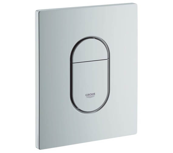 Additional image of Grohe Arena Cosmopolitan Alpin White WC Wall Plate