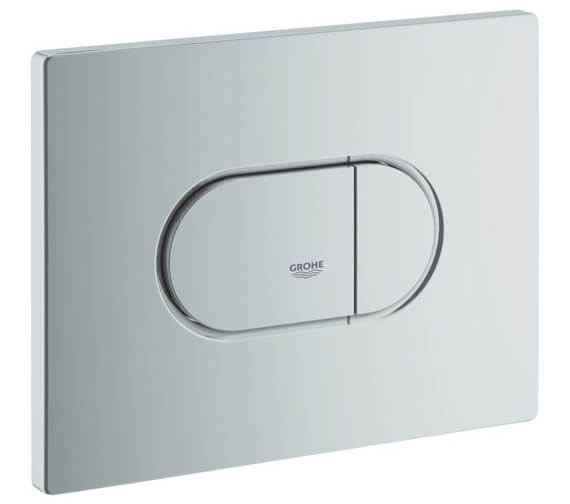 Additional image of Grohe Arena Cosmopolitan Alpin White WC Flush Plate