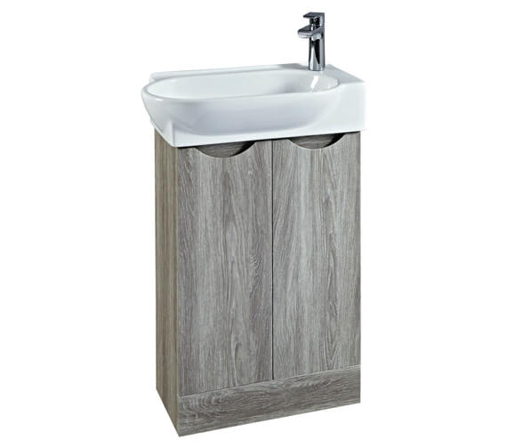 Phoenix Boston 570mm Vanity Unit With Basin Avola