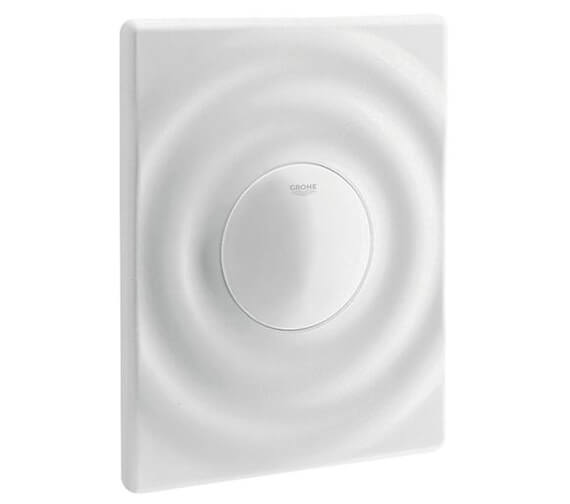 Grohe Surf Alpine White Wall Mounted Flush Plate