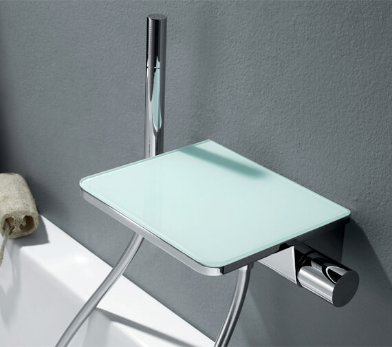 Flova Annecy Wall Mounted Single Lever Bath And Shower Mixer With Shower Set