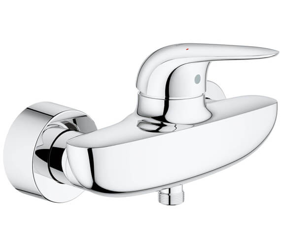 Grohe Eurostyle Wall Mounted Chrome Single Lever Shower Mixer Tap