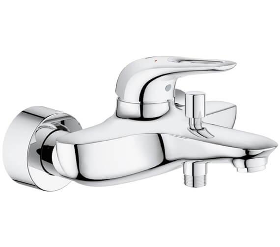 Grohe Eurostyle Single Lever Chrome Bath Shower Mixer Tap