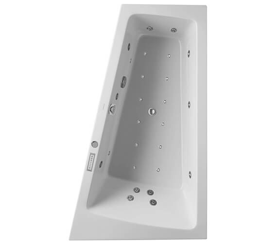 Additional image of Duravit Paiova 1700 x 1000mm Left Hand Built In Slope Bath With Combi System E