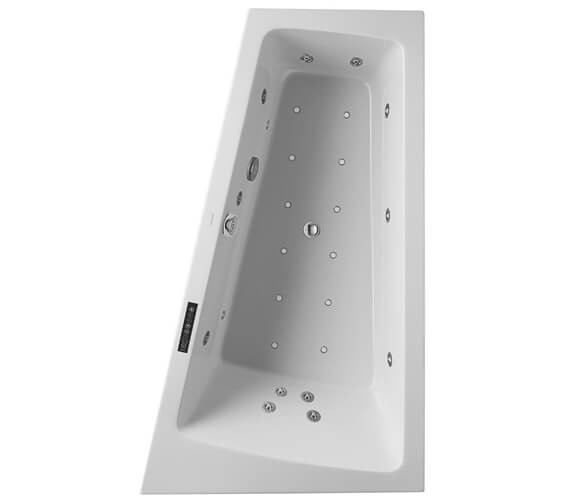 Additional image of Duravit Paiova 1700 x 1000mm Left Hand Built In Slope Bath With Combi System L