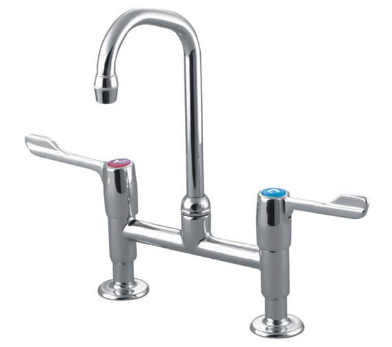 Armitage Shanks Markwik Kitchen Mixer Tap With 3 Inch Lever