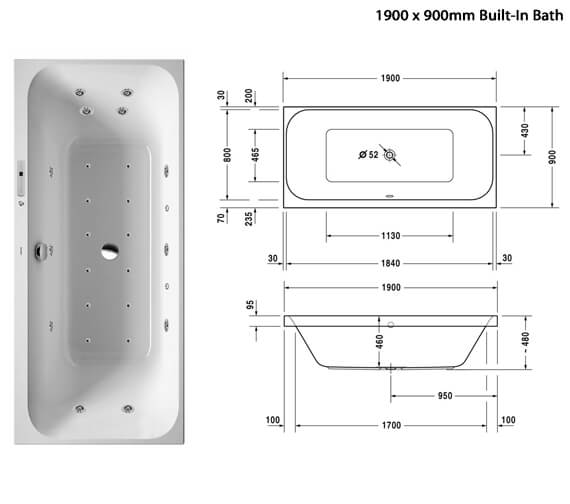 Additional image of Duravit  760314000CE1000