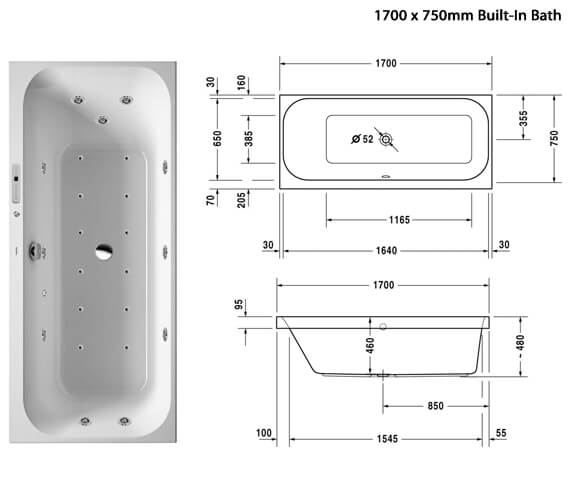 Additional image of Duravit  760310000CL1000
