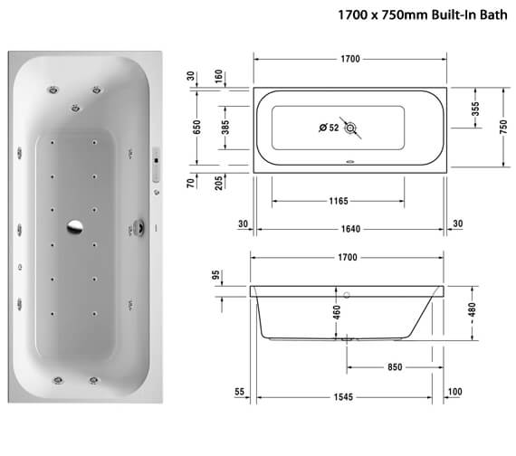 Additional image of Duravit  760311000CL1000