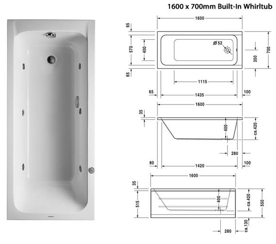 Additional image of Duravit  760095000JP1000