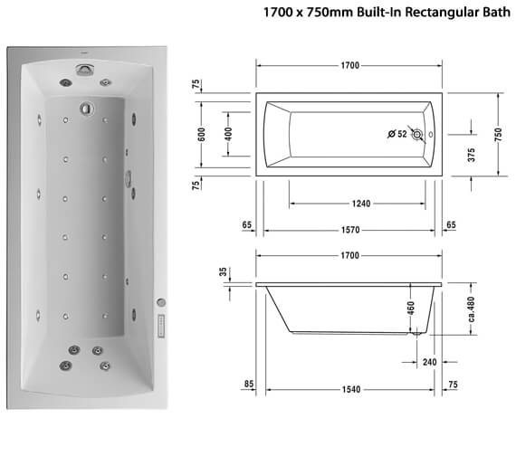 Additional image of Duravit  760141000CE1000