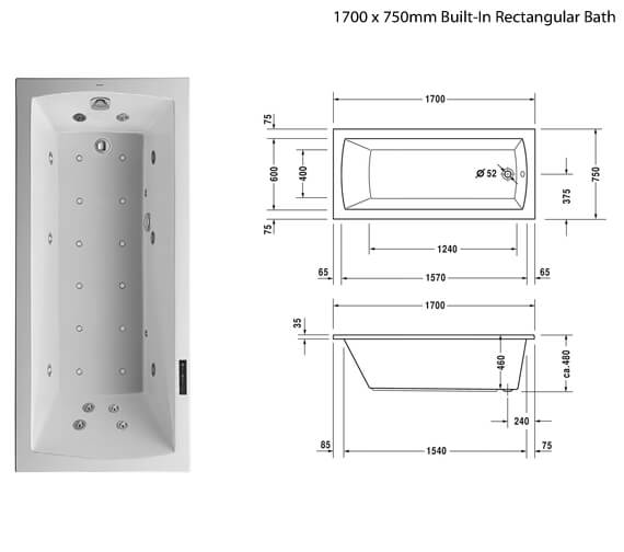 Additional image of Duravit  760141000CL1000