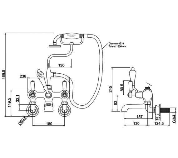 Technical drawing QS-V70369 / KER17