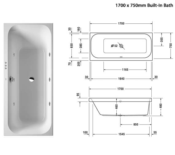 Additional image of Duravit  760310000JS1000