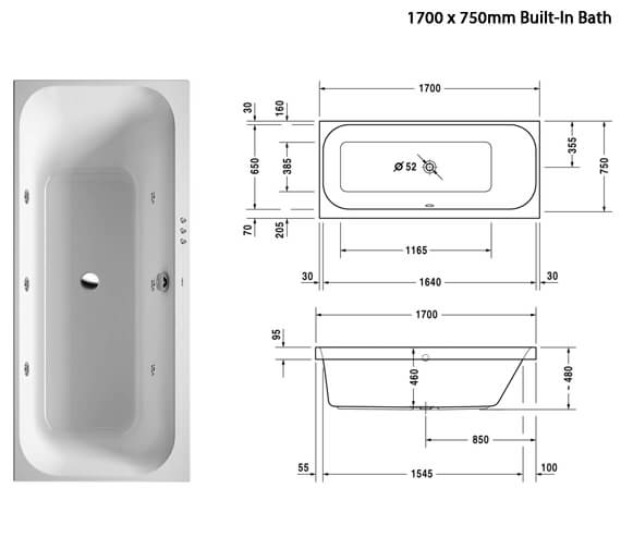 Additional image of Duravit  760311000JS1000