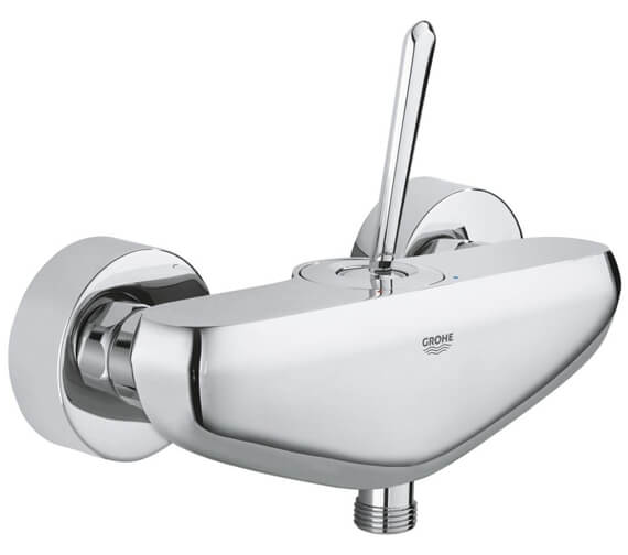 Grohe Eurodisc Joy Single Lever Half Inch Chrome Shower Mixer Tap