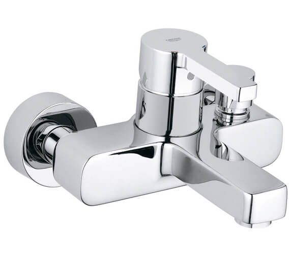 Grohe Lineare Exposed Wall Mounted Bath Shower Mixer Tap Without Kit