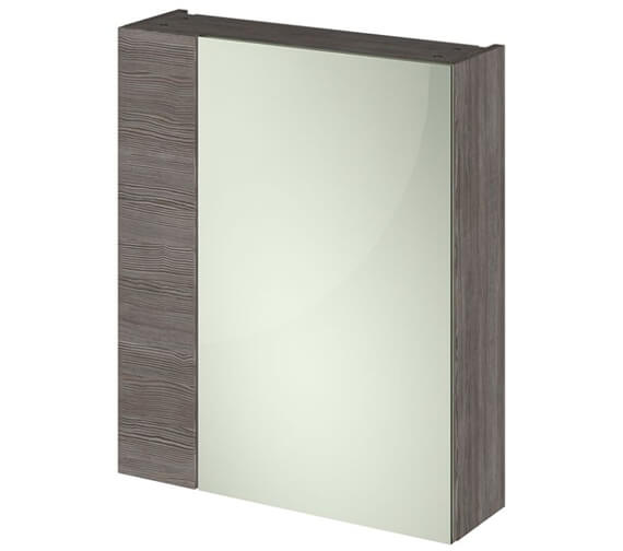 Additional image of Hudson Reed Full Depth 600mm Double Door 75-25 Mirror Cabinet