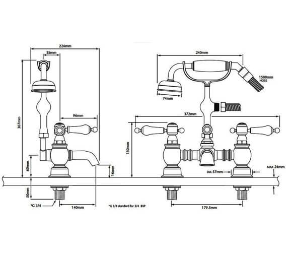 Technical drawing QS-V54893 / TGRC02