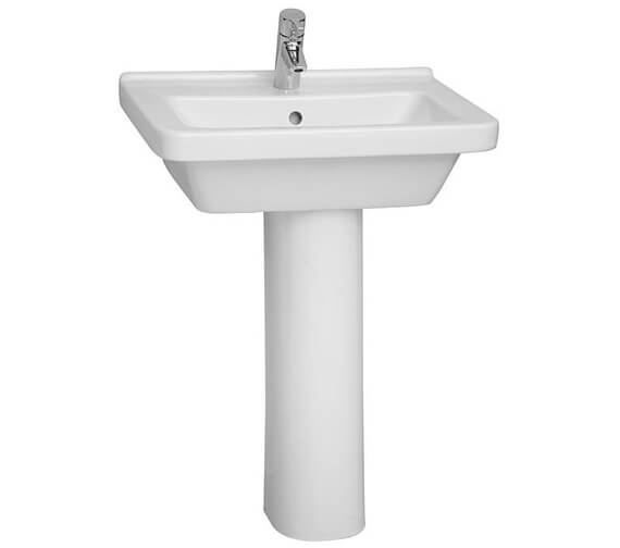 Alternate image of VitrA S50 Square Washbasin 450mm Wide