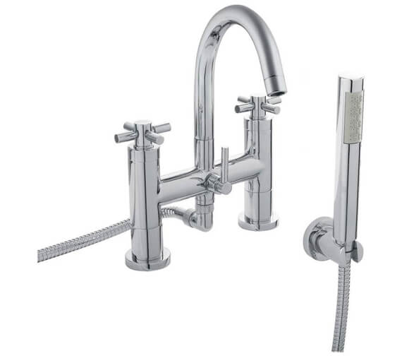 Hudson Reed Tec Bath Shower Mixer Tap With Kit