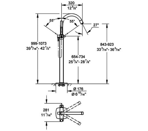 Technical drawing QS-V79499 / 23318000