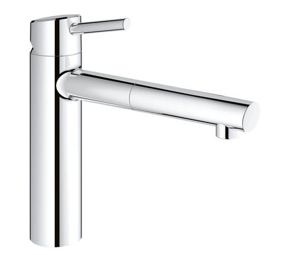 Grohe Concetto Deck Mounted Chrome Kitchen Sink Mixer Tap