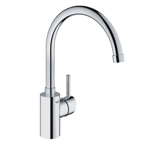 Grohe Concetto Single Lever High Spout Monobloc Sink Mixer Tap Chrome