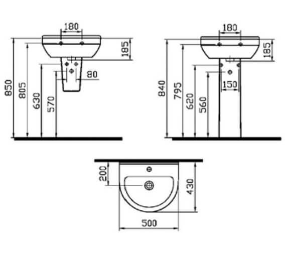 Technical drawing QS-V59685 / 5300L003-0999