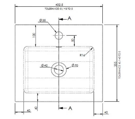 Technical drawing QS-V90194 / PMB311