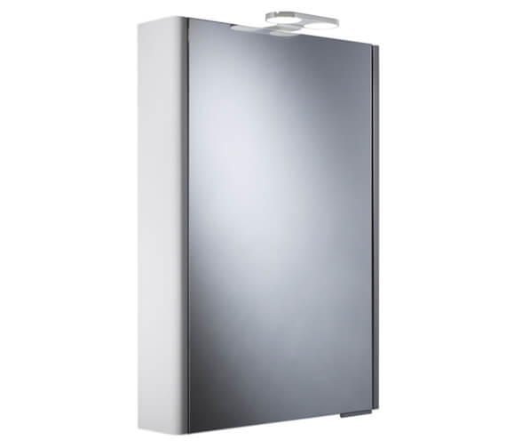 Roper Rhodes Phase Single Mirror Glass Door Cabinet With LEDs