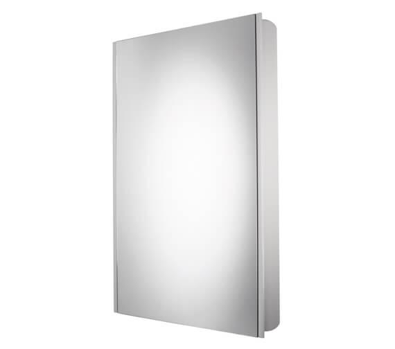 Additional image of Roper Rhodes Limit 450mm Slimline 1 Door Mirror Cabinet Aluminium